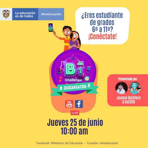 Banner promocional de la aplicación móvil de bilingüismo