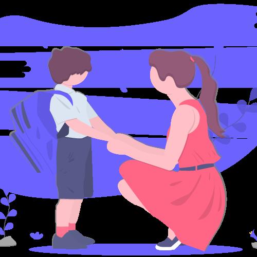 Imagen promocional plataforma de familias