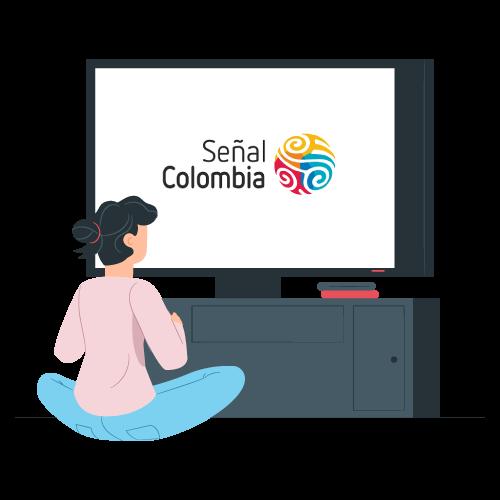 Imagen promocional de Señal Colombia