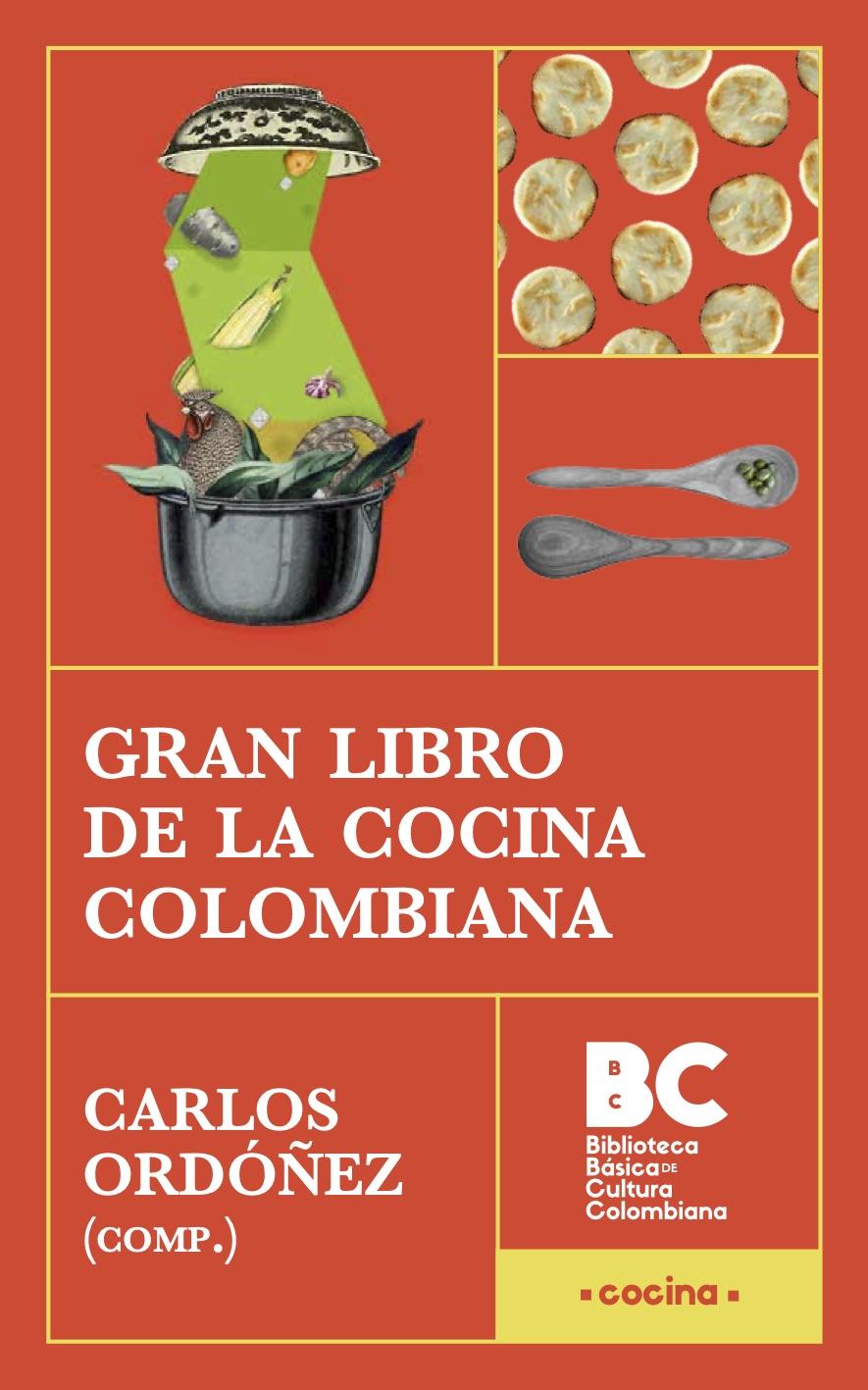 Portada del Gran Libro de la Cocina Colombiana