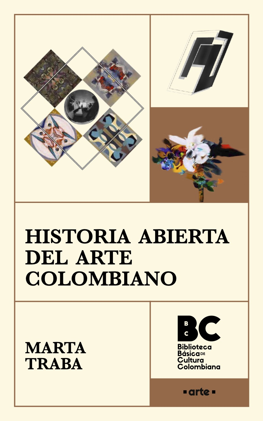 Portada de Historia Abierta del Arte Colombiano