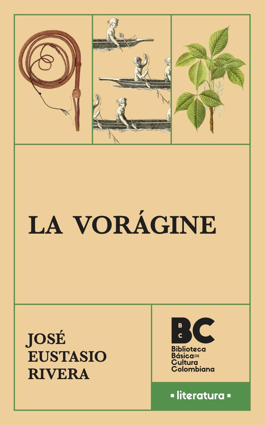 Portada de La Vorágine