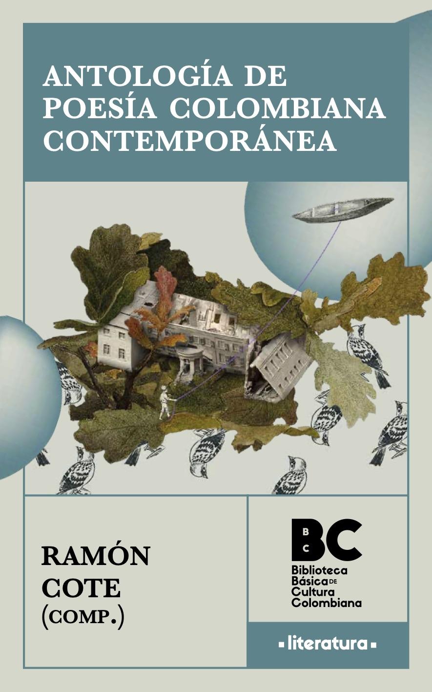 Portada de Antología de Poesía Colombiana Contemporánea