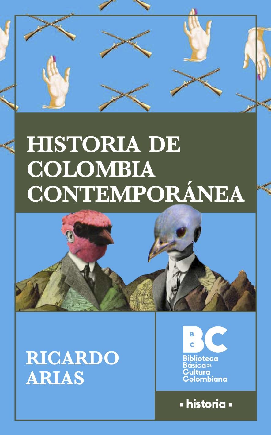 Portada de Historia de Colombia Contemporánea