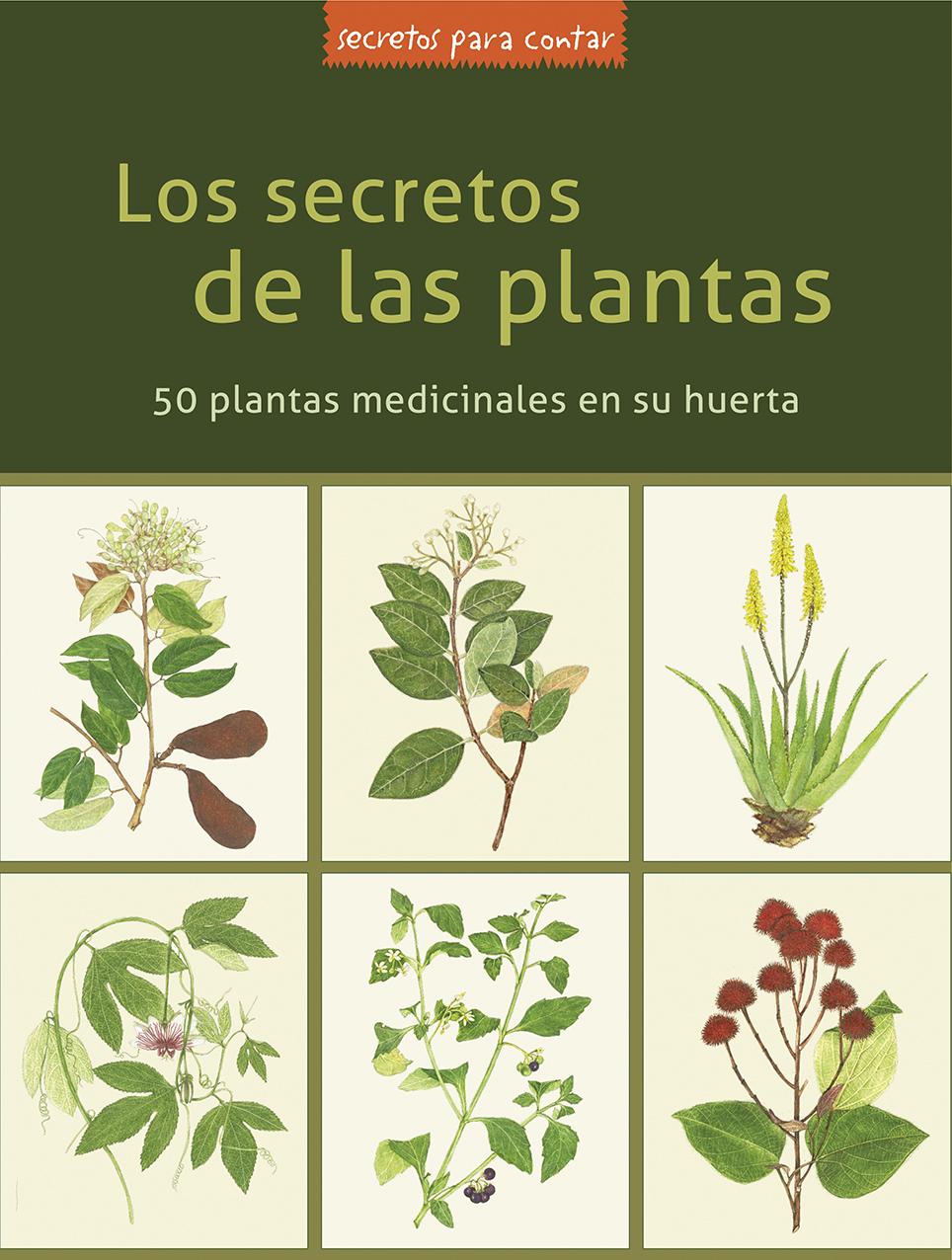 Portada libro Secretos de las Plantas